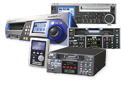 VTRs, disc recorders