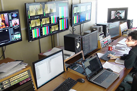 PBK play-out master control room