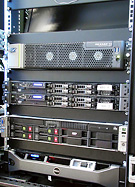 PBK play-out system racks
