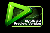 Grass Valley EDIUS 3D preview