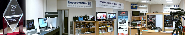 Hannu Pro salons online shop (Apple, Mac, JVC and more)