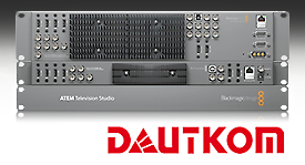 Blackmagic Design switcher for Dautkom