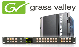 Grass Valley Concerto system for Lattelecom