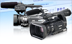 JVC GY-HM150 and Panasonic AG-HPX250