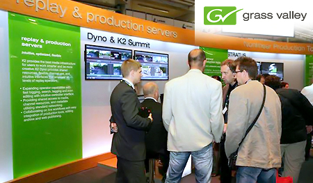 IBC 2013 Hannu Pro meets Grass Valley