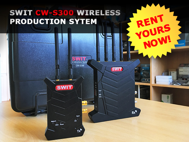 SWIT CW-S300 for rent