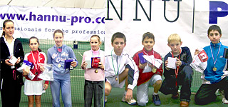 The winners of Latvian U-12 tournament