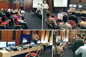 Grass Valley roadshow in Tbilisi
