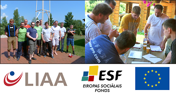 LIAA, ESF, EU supported training