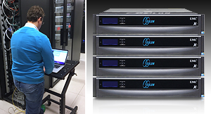 EMC Isilon storage system installation at MTG Riga POC