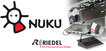 Riedel wireless intercom system for Nukutheater