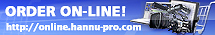 Order your production tools online at Hannu Pro!